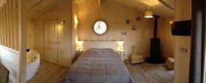 ccabane dans les arbres Sarlat Dordogne avec spa jacuzzi sauna