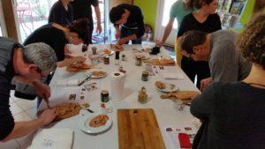 Atelier Culinaire foie gras mi cuit au Village du paillé
