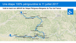 etape tour de France 2017 Périgueux Bergerac Village vacances du paillé