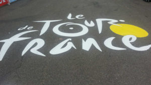 Tour De France 2017 Village du paillé Dordogne www.gitesarlat.com