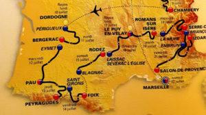 Tour de france 2017 dordogne perigord village du paillé vacances bien être