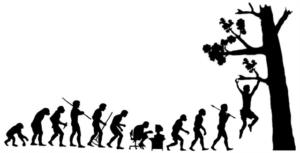 évolution en terre de l homme , geoching Dordogne Périgord noir