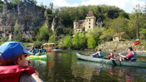 animations à Sarlat sortie canoë vallée Dordogne