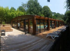 piscine couverte chauffée Sarlat
