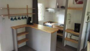 location sarlat village du paillé , nos cuisines chalet bois