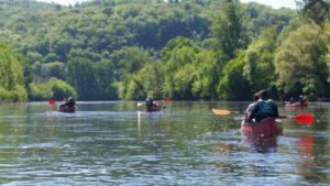 Vacances nature Dordogne canoe