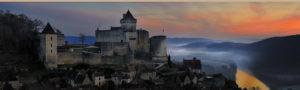 chateau castelnaud brume vallée Dordogne