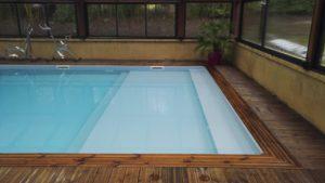 pataugeoire vacances Dordogne piscine chauffée