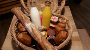 panier petit déjeuner village du paillé