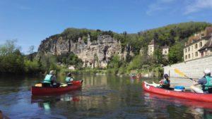 Randonnées canoë Sarlat Dordogne