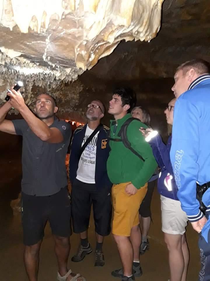 visite guidée sorties les grottes de Cougnac village du paillé