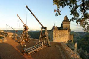 Trébuchet château de Castelnaud