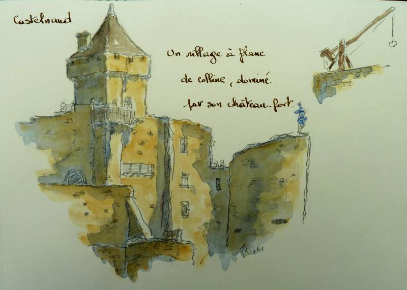 Château Castelnaud Périgord noir